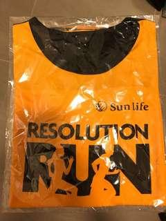 SunLife 10k 2019 running jersey 跑衣 (size s)