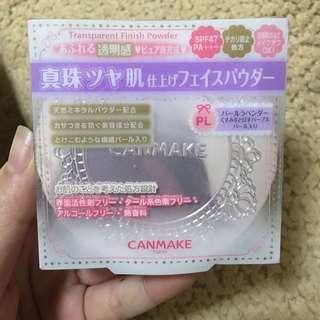 🚚 日本帶回 只有一盒 canmake 棉花糖 粉餅 防曬 透明感 打造超美肌