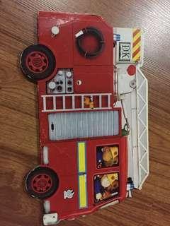 Jumbo Shaped Board Book Fire Engine