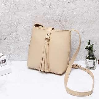 [BN] Madeline Tassel Crossbody Sling Bag