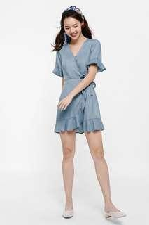 BNWT LB Gillian Denim Shirt Dress