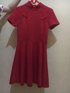 BAJU CHONGSAM CHOENGSAM IMLEK DRESS