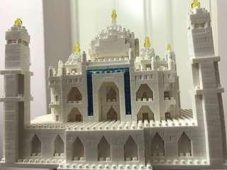 Nano Block Taj Mahal decoration