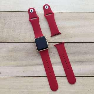 Red Replacement Strap for Apple Watch