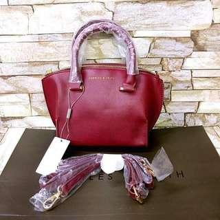 Charles and Keith Handbag with Sling