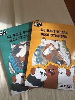 🚚 熊熊遇見你大貼紙