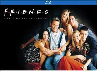 Friends The Complete Series Blu-ray Boxset   21 discs