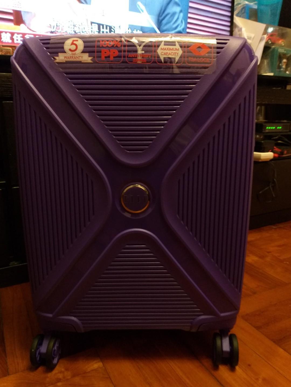全新 Elle Luggage 20吋超輕行李喼旅行箱TSA鎖可手提上機有保養