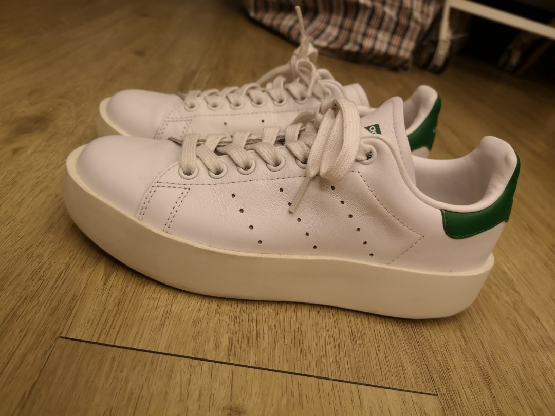 new product d8f6b 181ac Adidas Stan Smith thick sole 厚底 édition [95% new]