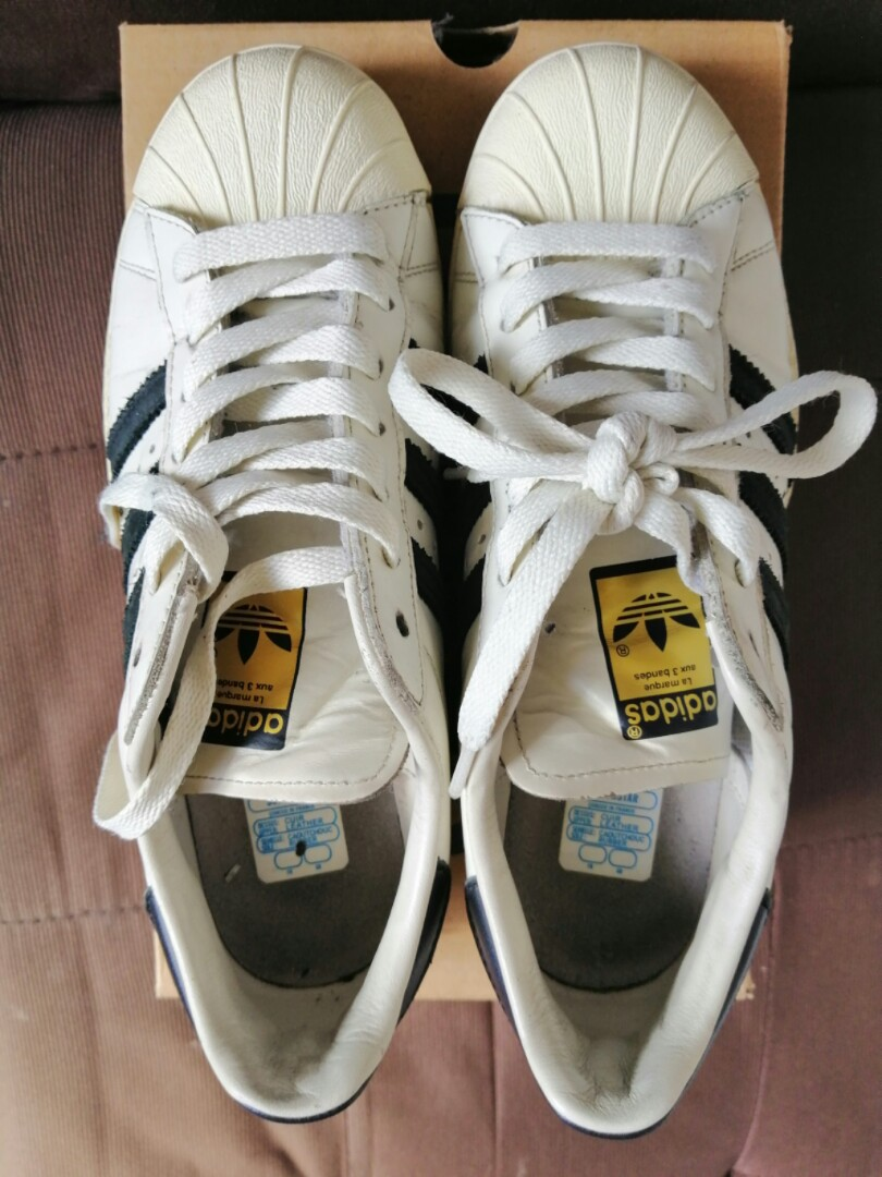bce6d0a1bf0f6 Adidas Superstar 80s Vintage Deluxe