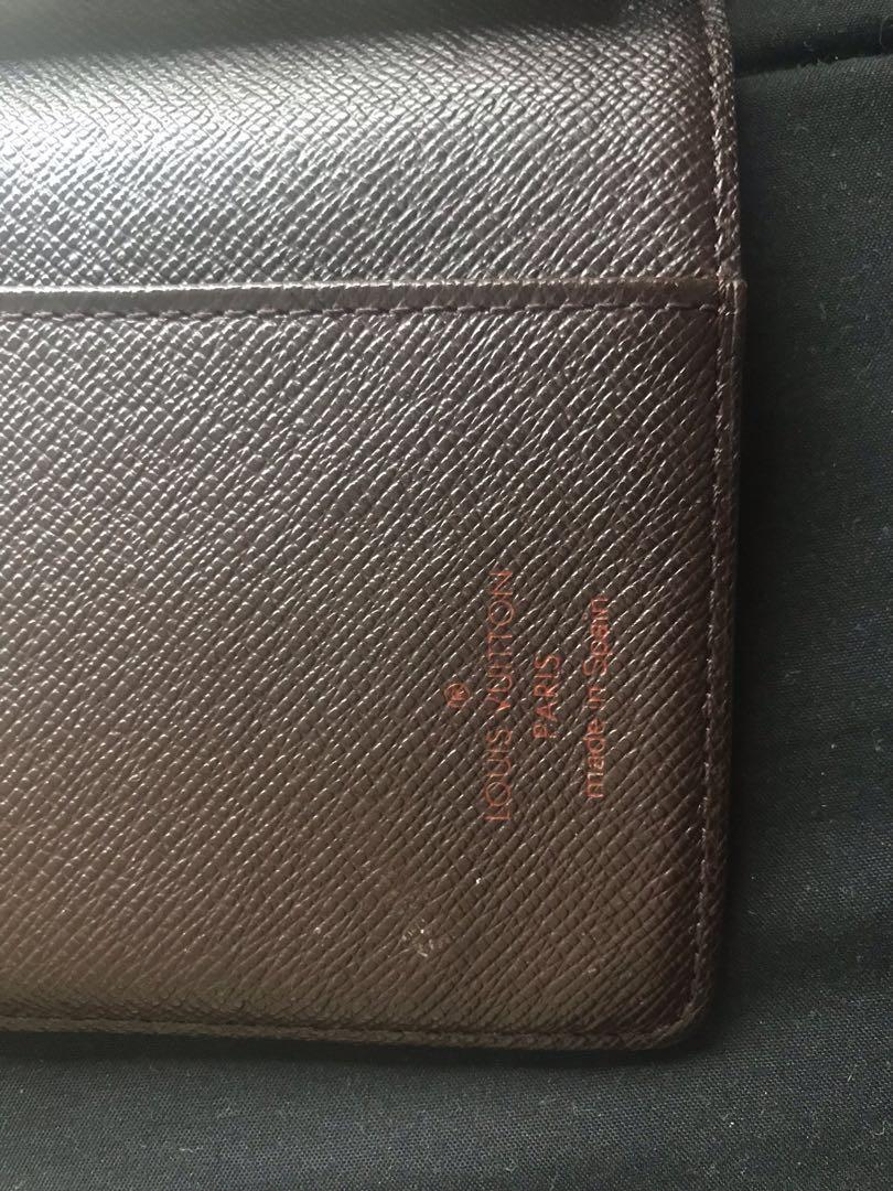 Authentic Louis Vuitton agenda pm