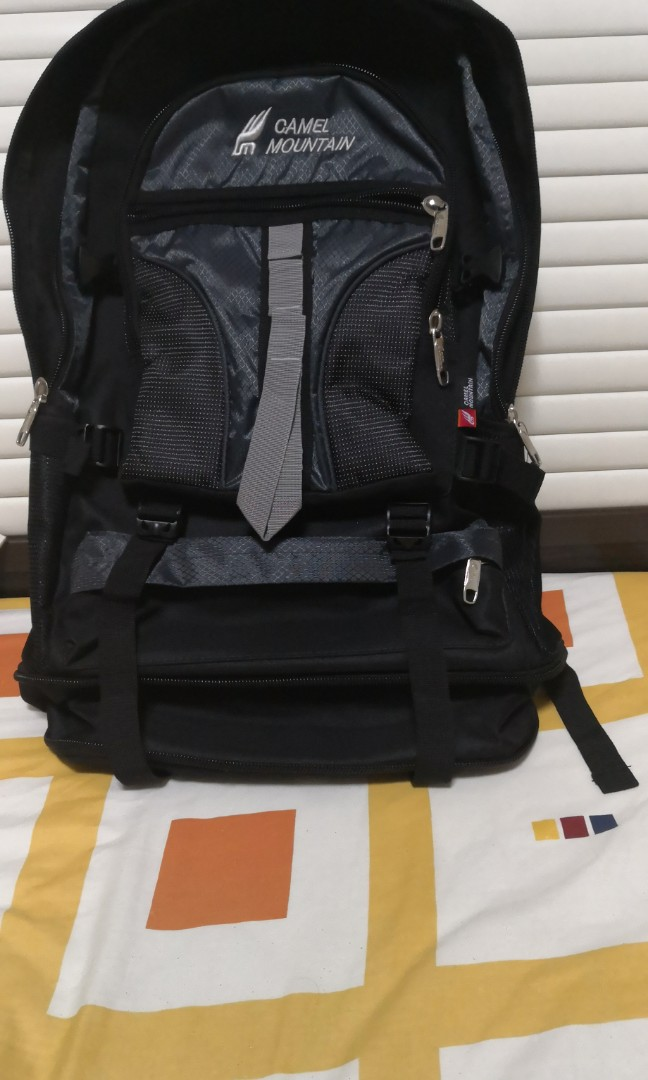 19a8c7ef4d Big Backpack, Travel, Travel Essentials, Travel Accessories on Carousell
