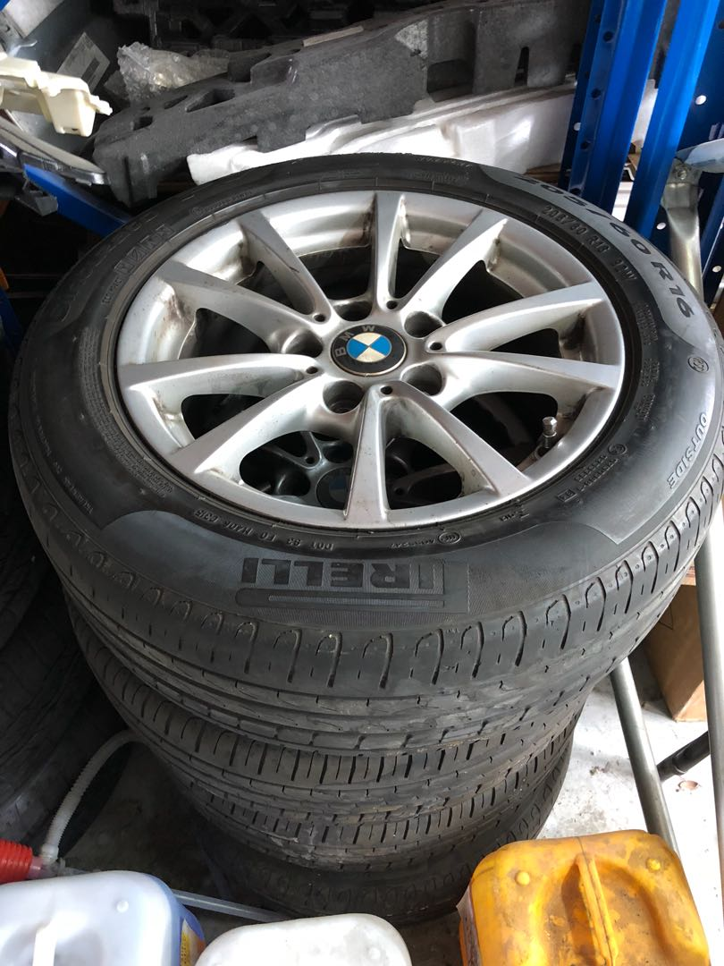 Bmw F30 Stock Original 16 Inch Rims Set Of 4 Car Accessories Tyres