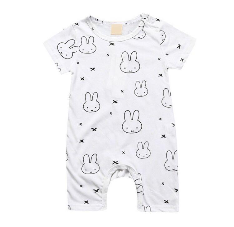 c216e198c BN Baby Miffy Inspired Rabbit Bunny Onesie Romper 3-6m & 18-22mths ...
