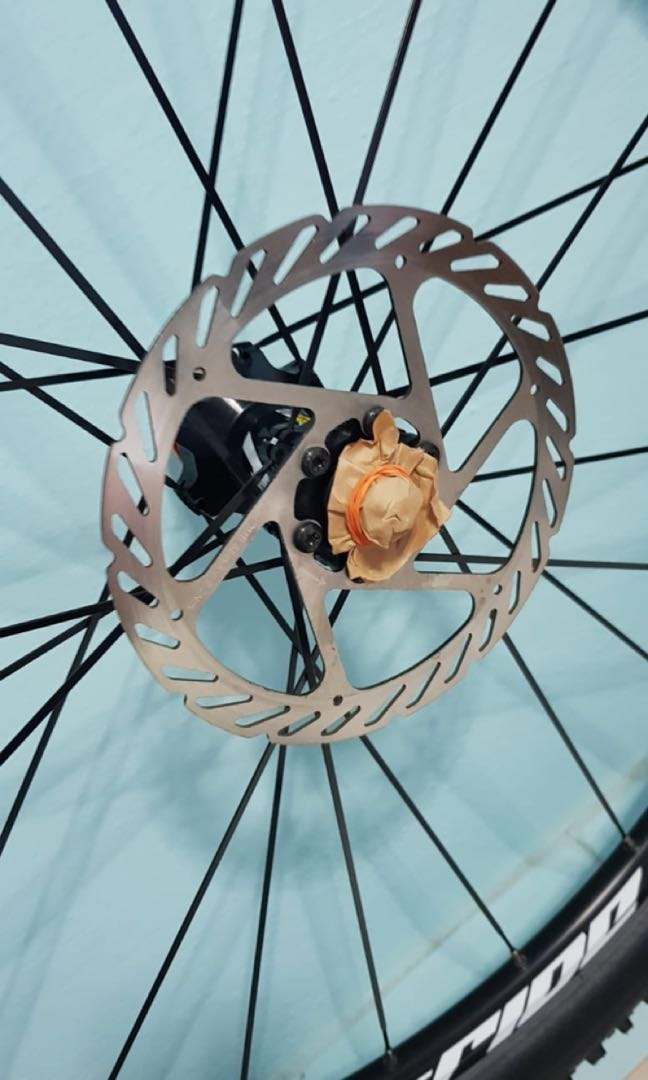 f572d42257b BRAND NEW 29 inch Mavic Crossride rim laced with SCHWABLE TYRE, Bicycles &  PMDs, Bicycles, Mountain Bikes on Carousell