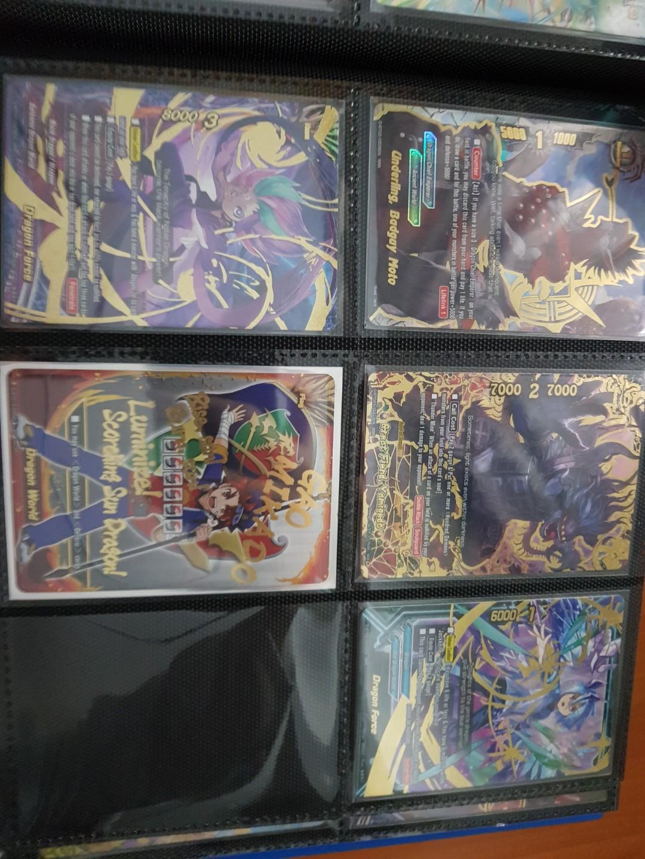 Buddyfight season 1-4 cards