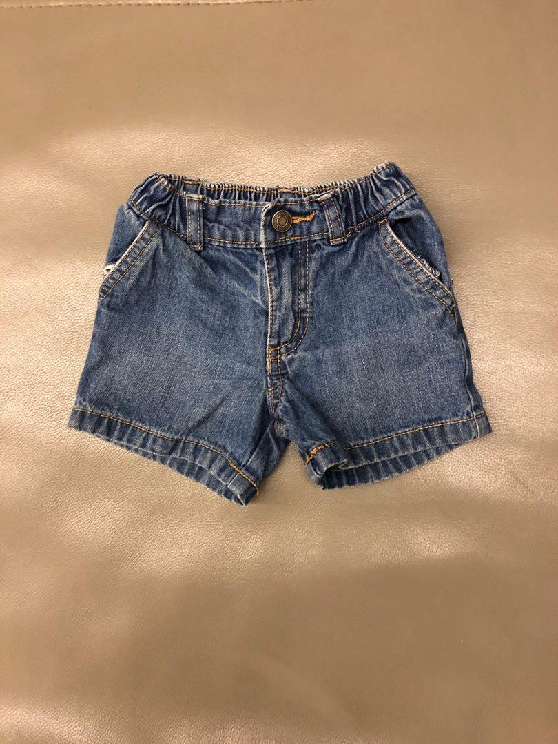5b49c1cfe3f3 Carter baby boy denim shorts(6m)