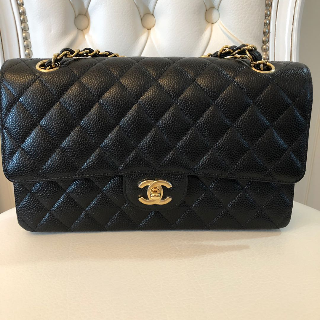3c1d8b45b7b8 Chanel Classic Medium Double Flap Bag, Luxury, Bags & Wallets ...