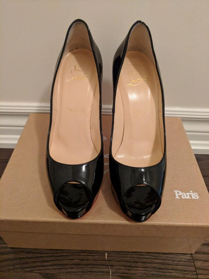 Christian Louboutin New Very Prive 120 Patent