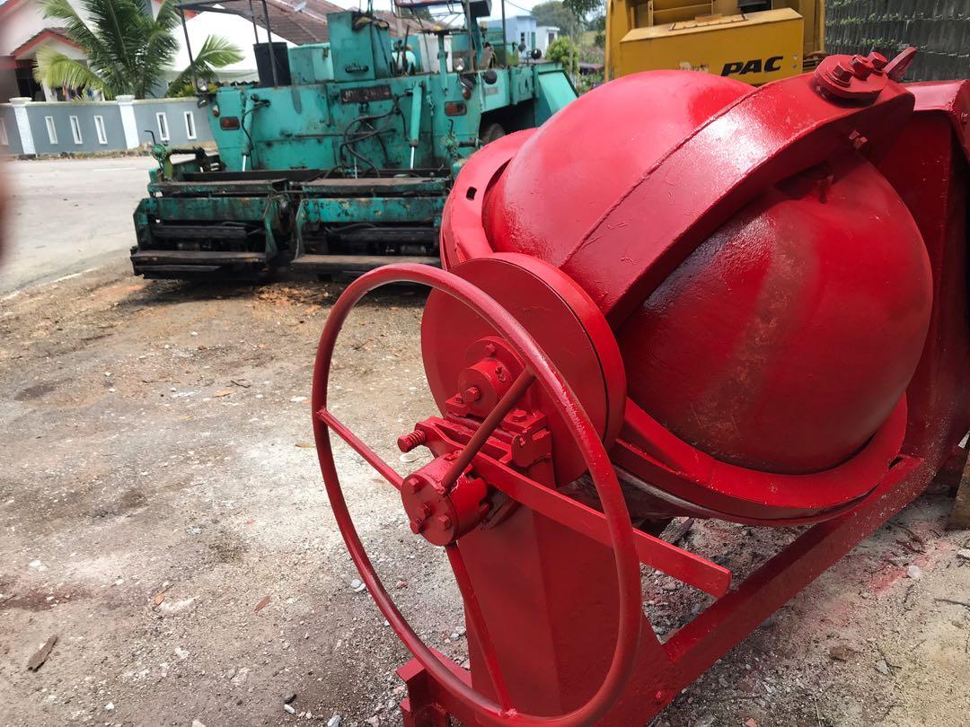 Concrete Mixer Mesin Bancuh Simen