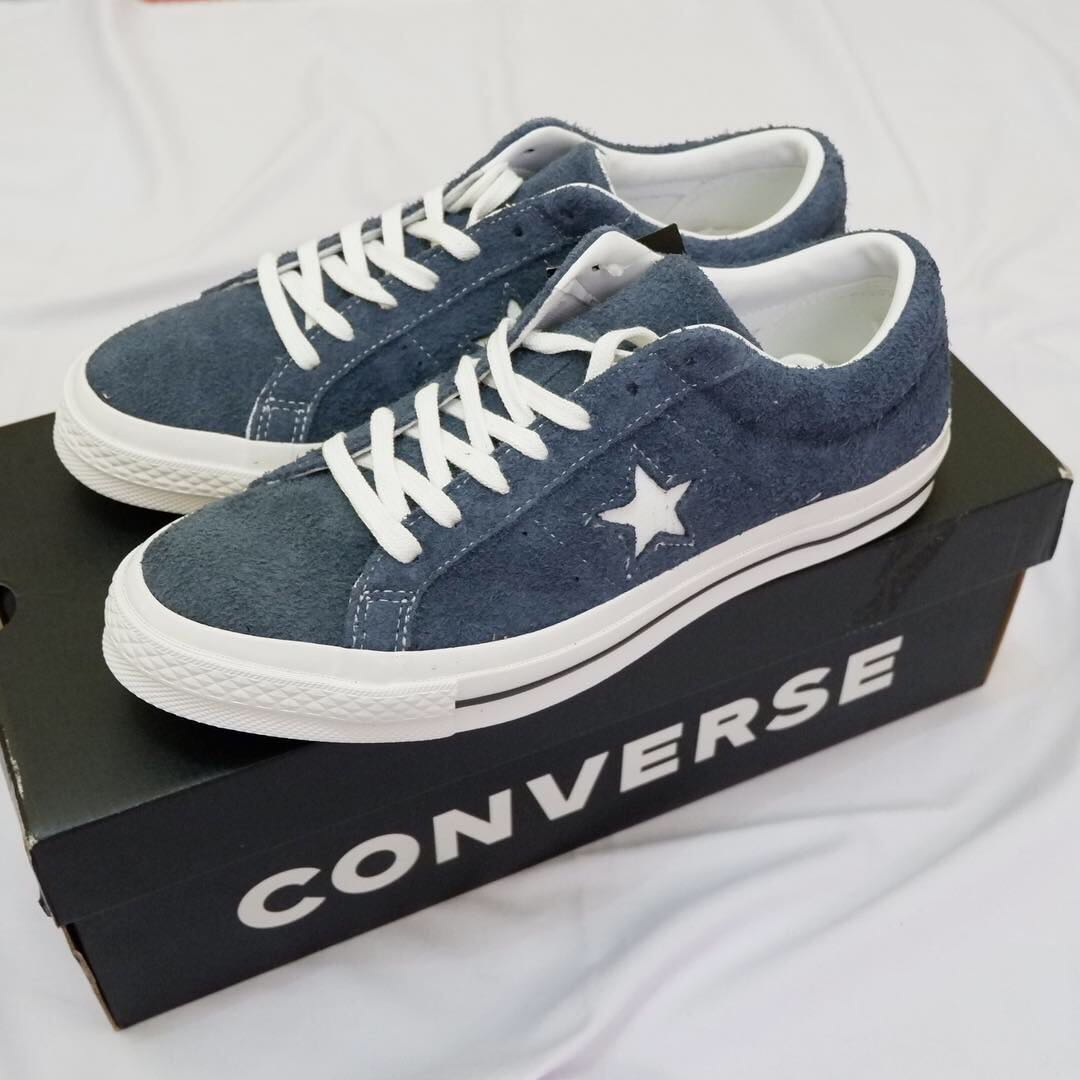 Converse One Star Ox Navy Blue c63306429