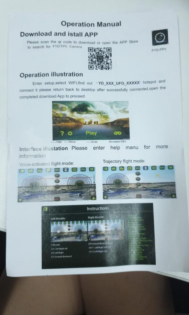 Wifi Ufo Instructions