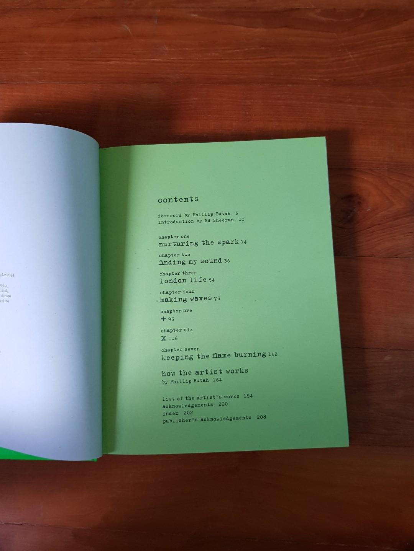 Ed Sheeran: A Visual Journey by Ed Sheeran and Phillip Butah