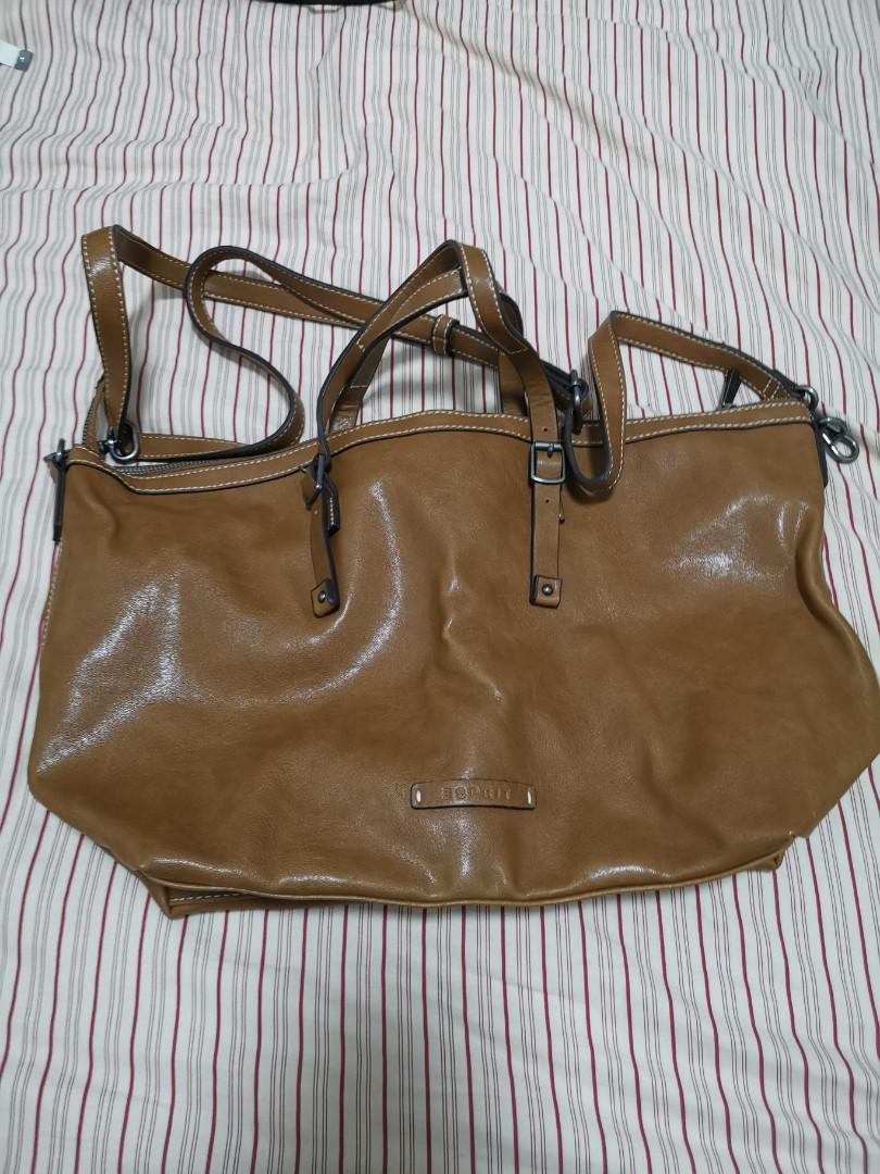 1fe90028ebfda Esprit Leather Bag, Women's Fashion, Bags & Wallets, Handbags on ...
