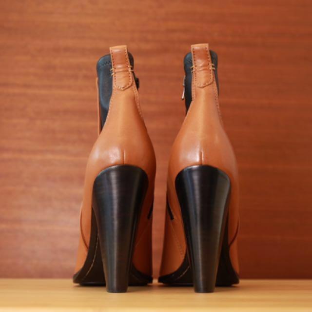 Frye 真皮經典 個性踝靴 全新正品
