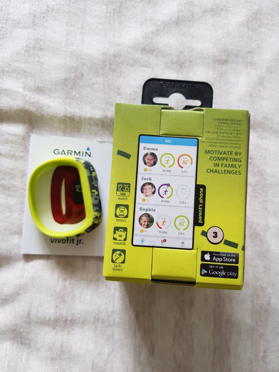 GARMIN VIVOfit jr  For ages 3-10