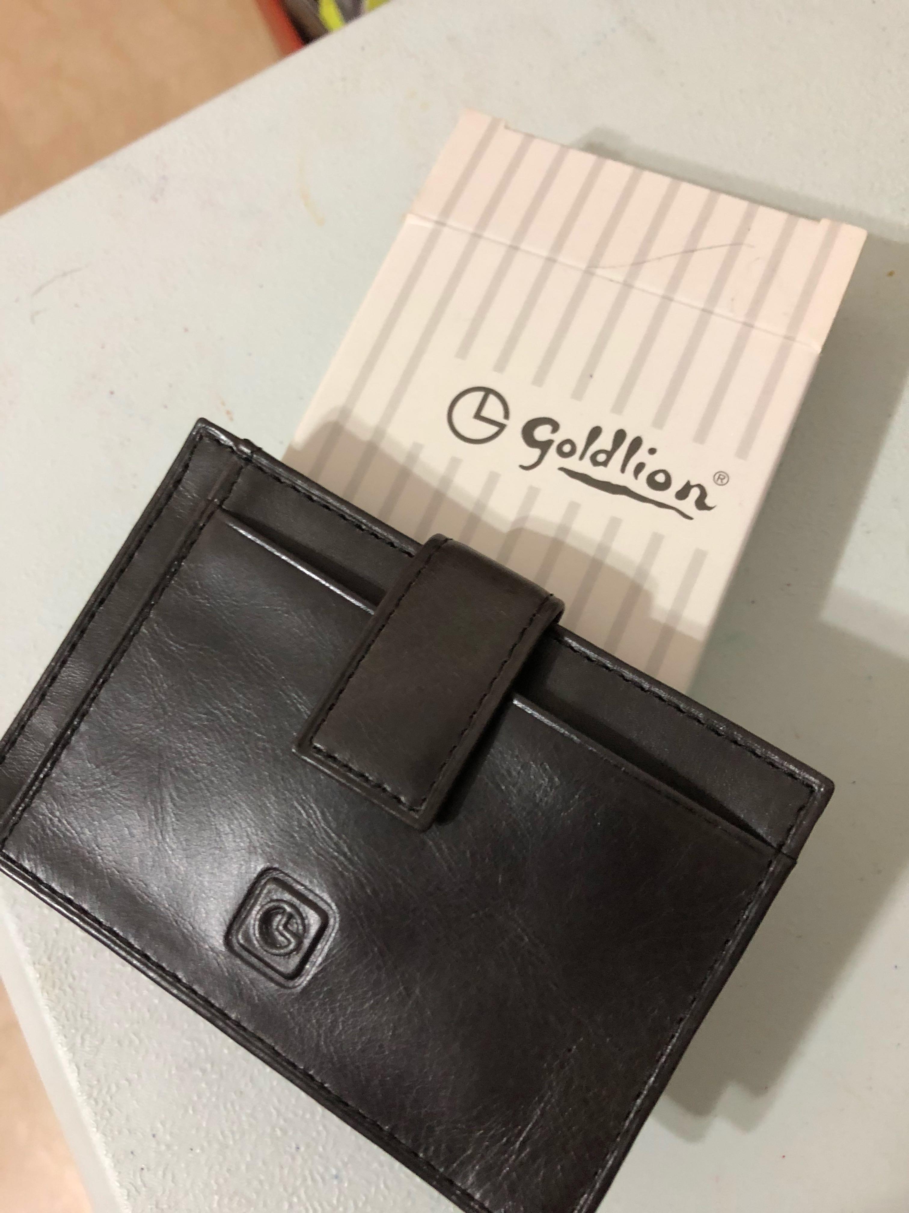 ef46ee81ca41c4 Goldlion leather card holder, Men's Fashion, Bags & Wallets, Wallets ...