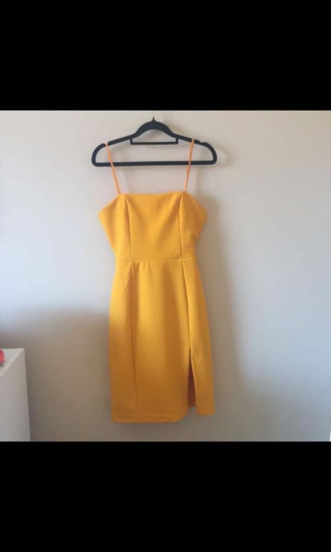 Gorgeous Kookai Honeycomb Dress - Size 36