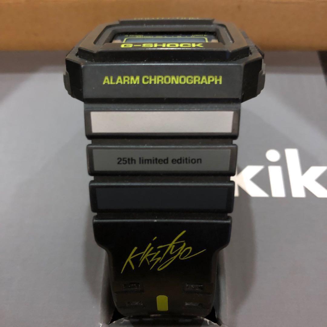 G-Shock 25th anniversary limited edition x Kiks Tyo