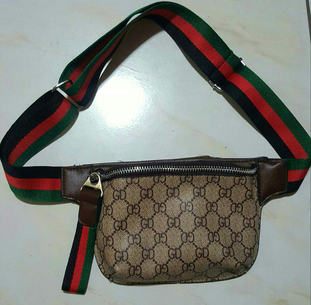657a48b2d Gucci inspired belt bag on Carousell