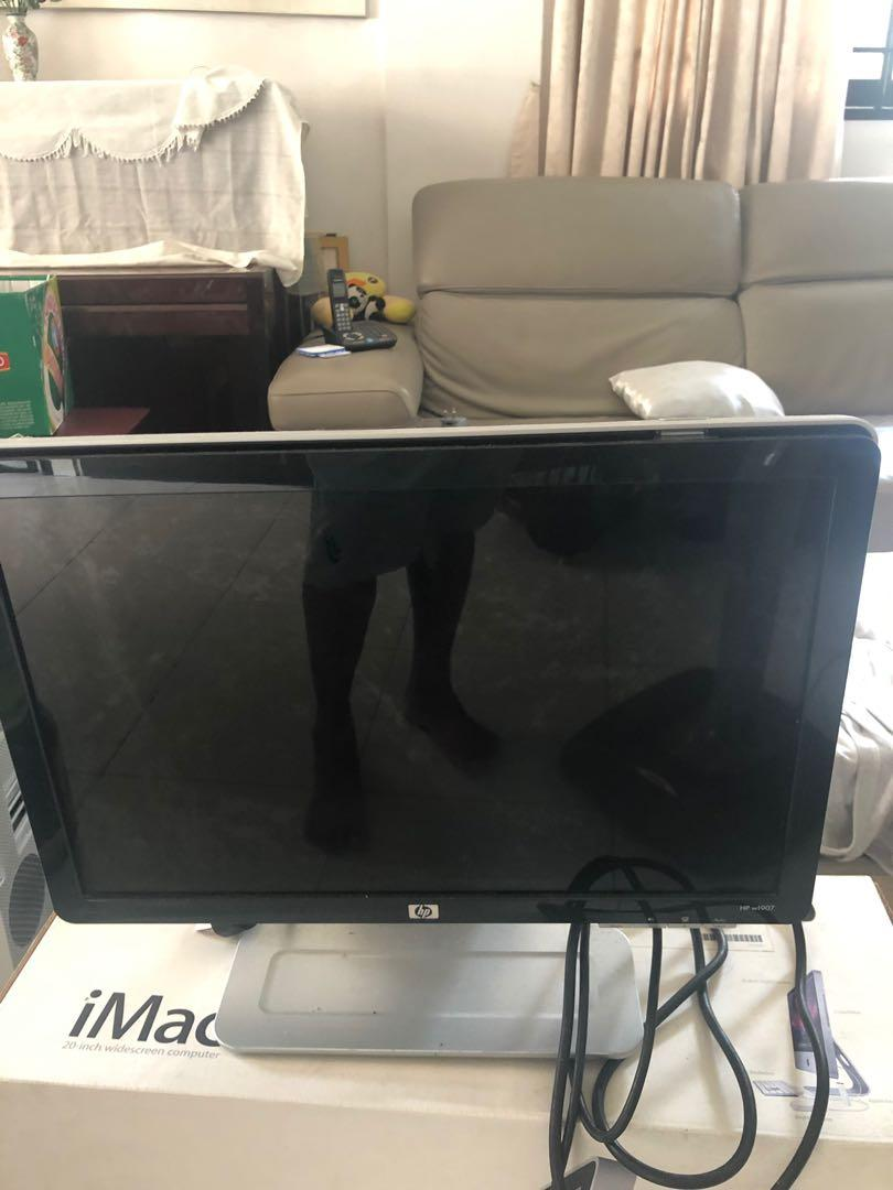 HP lcd 19 in widescreen