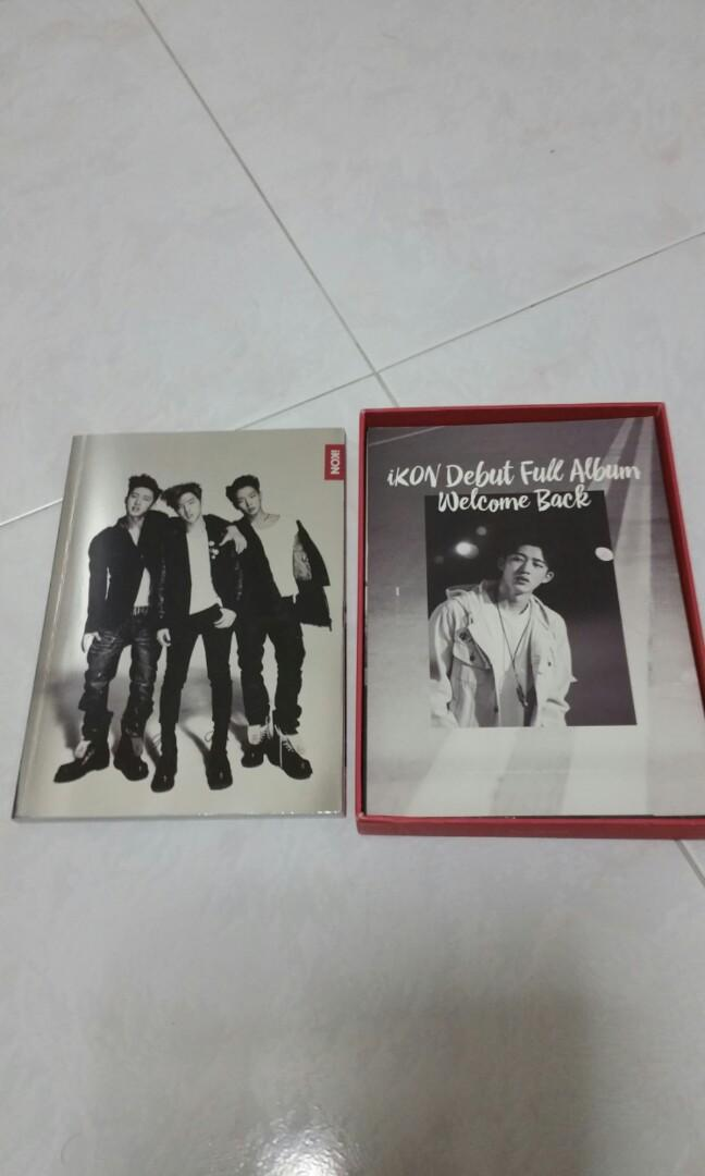 ikon welcome back full album red version