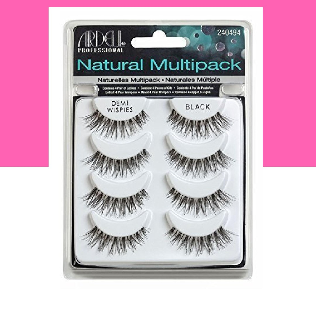 5e4d136e880 INSTOCK AND AUTHENTIC ARDELL 4 PACK MULTIPACK LASHES DEMI WISPIES ...