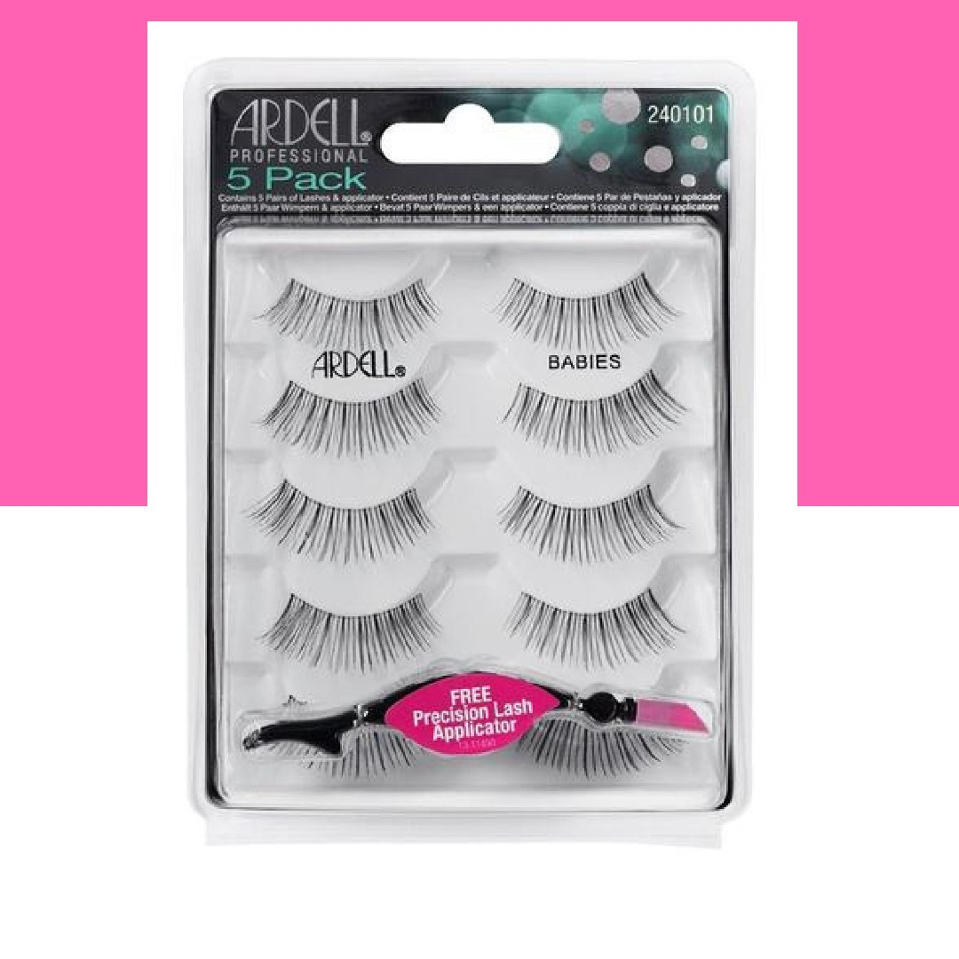 3cf3a907899 INSTOCK AND AUTHENTIC ARDELL 5 PACK MULTIPACK LASHES BABIES BLACK ...