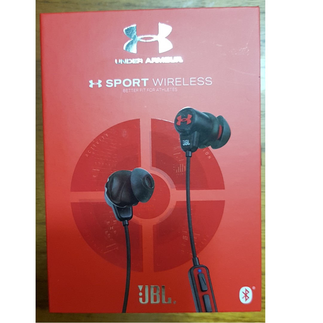 a13e2ced4e5 JBL Under Armour Bluetooth Wireless Headphones (Brand New in Box ...