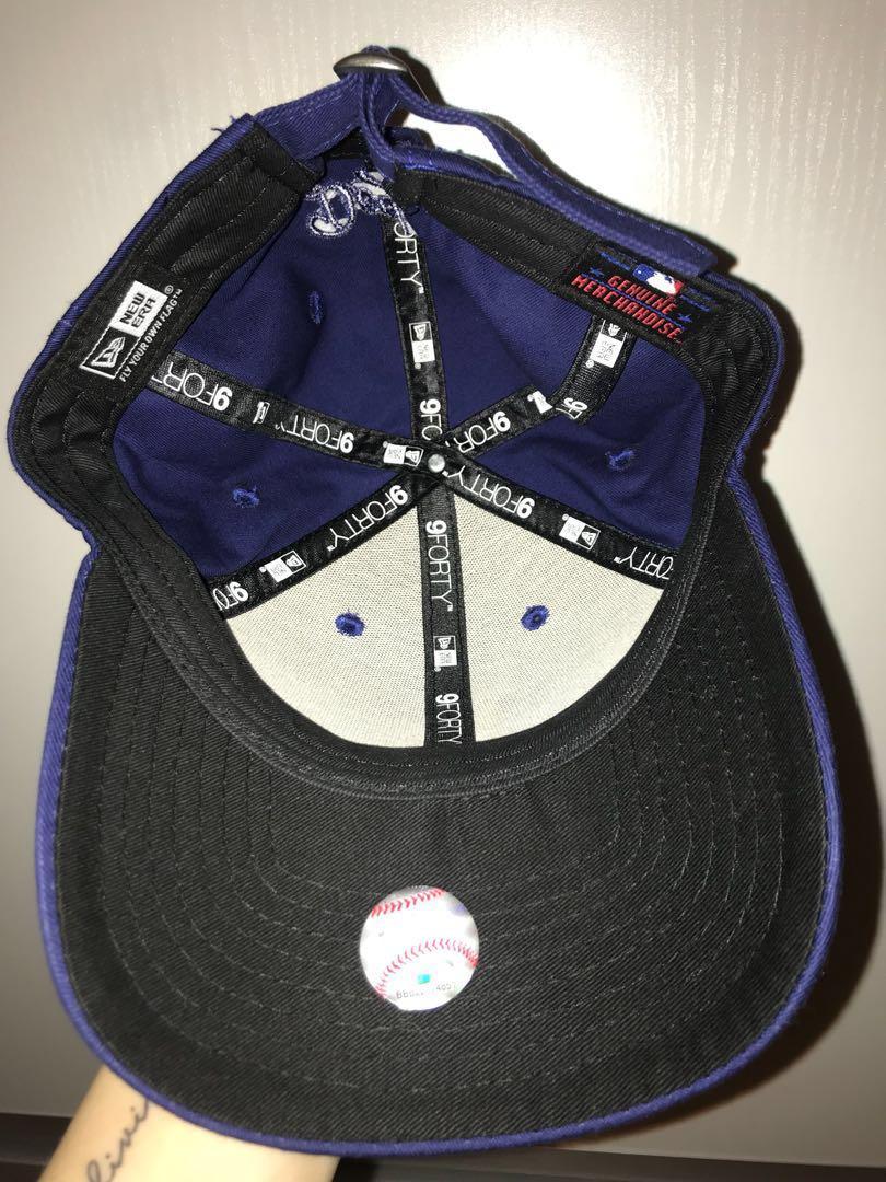 LA blue new era cap