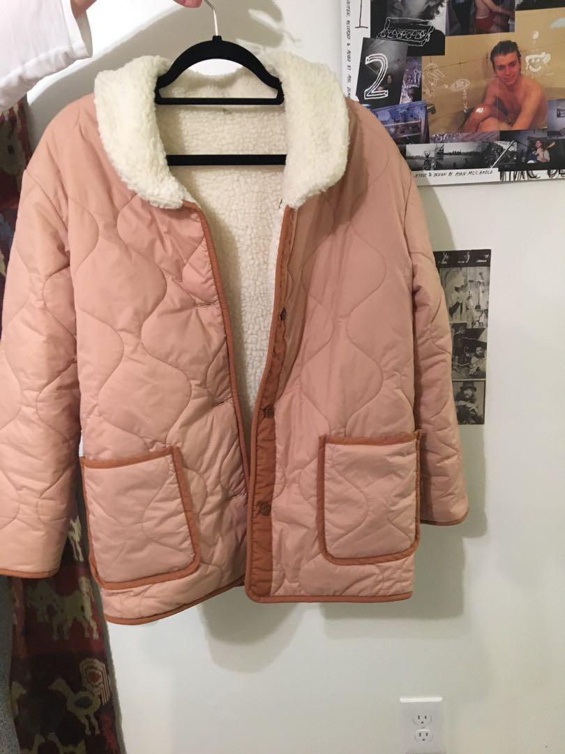 Levi's Made & Crafted Quilted Liner Coat - Reversible  Regular $530