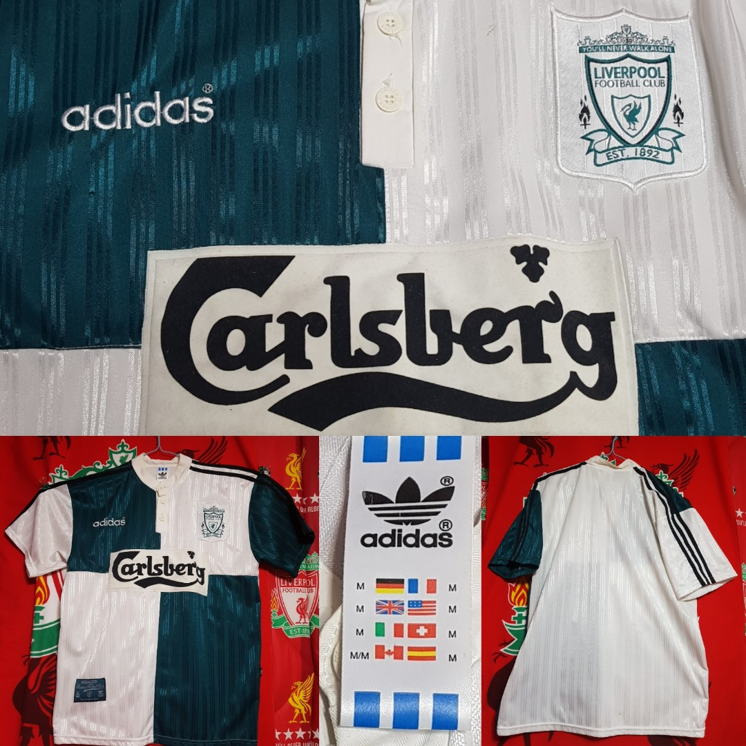 eb58f7ee5 Liverpool Away Jersey 1995 96 - Official Adidas Product