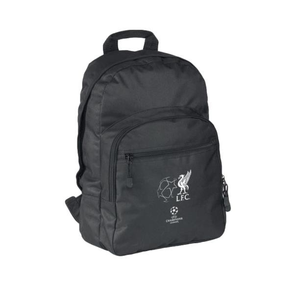 9903f2496 Liverpool FC UCL Backpack - Black, Sports, Sports Apparel on Carousell