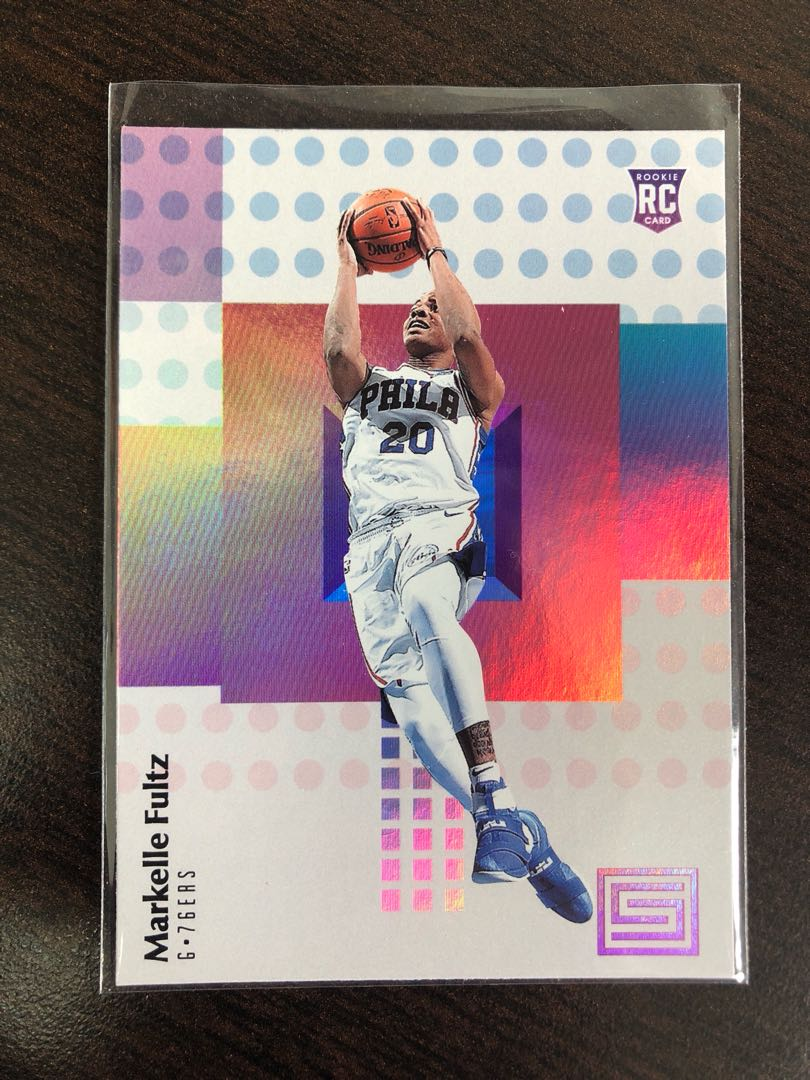 Markelle Fultz 2017 18 Nba Panini Status Basketball Rookie Card