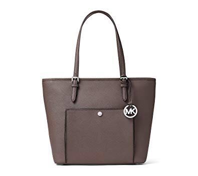 2b3349fb6047 Michael kors jet set snap pocket tote bag saffiano leather