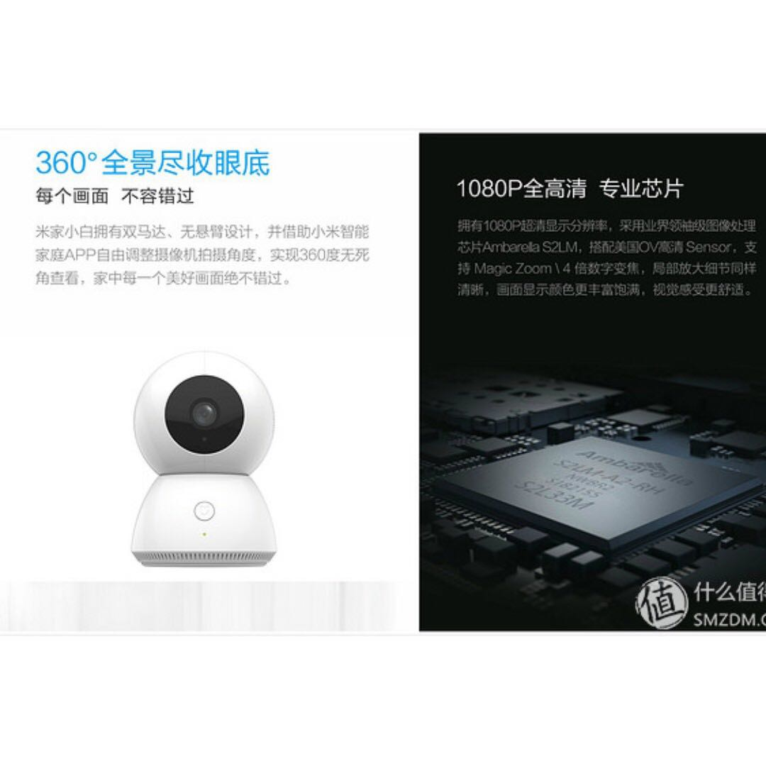 Mijia smart home IP camera 360 degree 1080P night vision