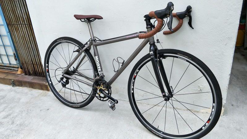 Moots Psychlo-X Titanium Bicycle  Touring, Cyclocross