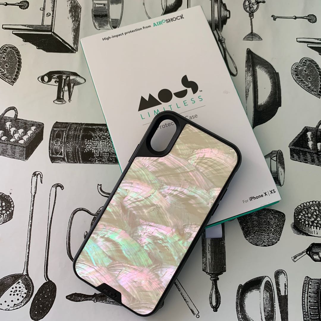 more photos 86197 41593 Mous iPhone X/XS Case Limitless 2.0 (Real Shell)