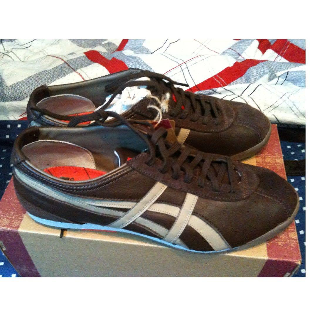 Ontisuka Tiger Trainers Brown for Men Euro 42 Brand New