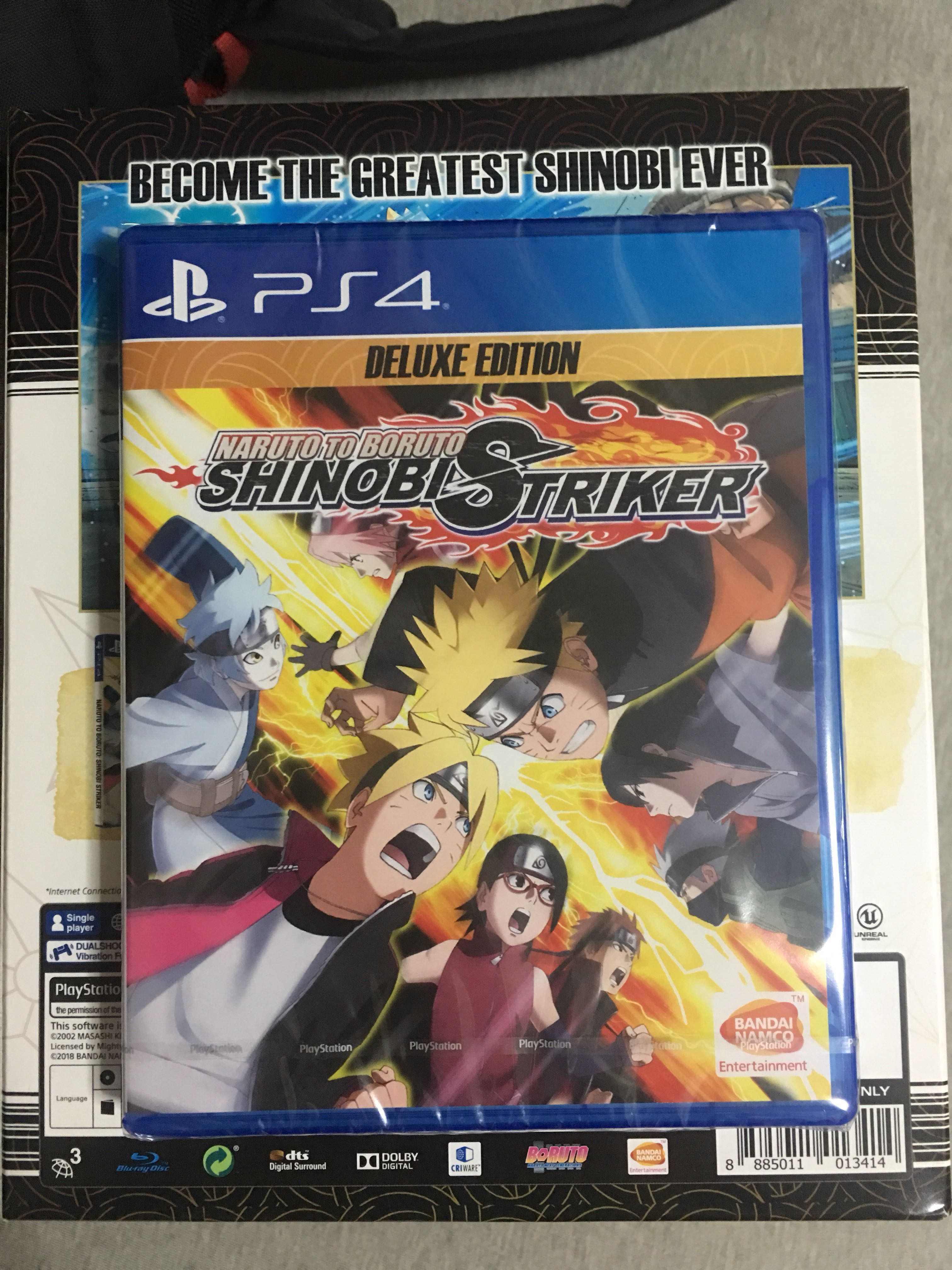 PS4 naruto to boruto shinobi striker deluxe edition, Toys